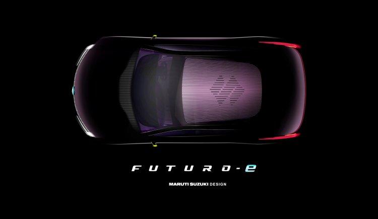 Maruti Futuro E Roof Teaser C950