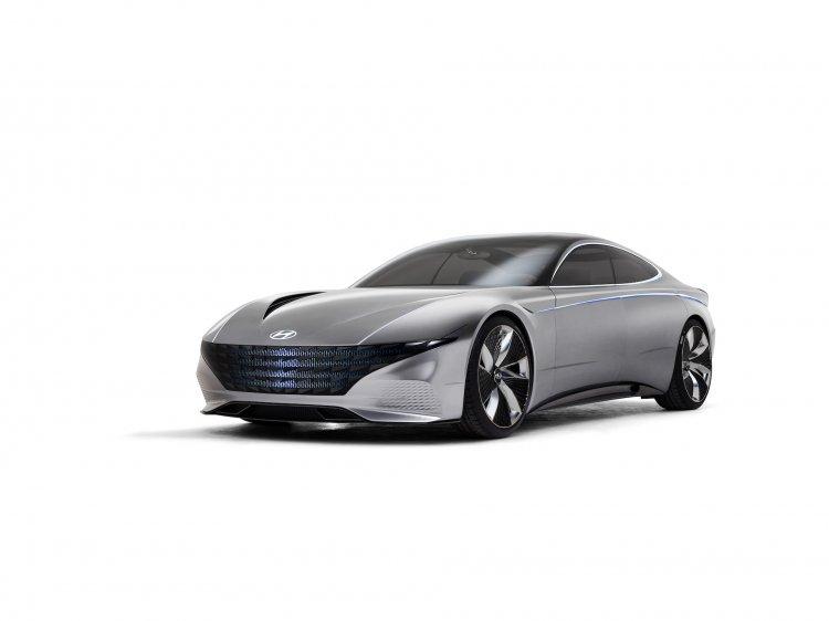 Hyundai Le Fil Rouge Concept Front Three Quarters