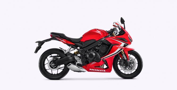 2020 Honda Cbr 650r Grand Prix Red Right Side