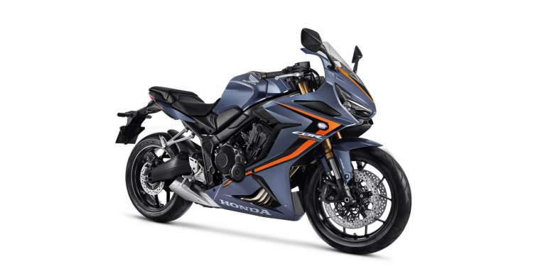 2020 Honda Cbr 650r Gunpowder Black Metallic Right