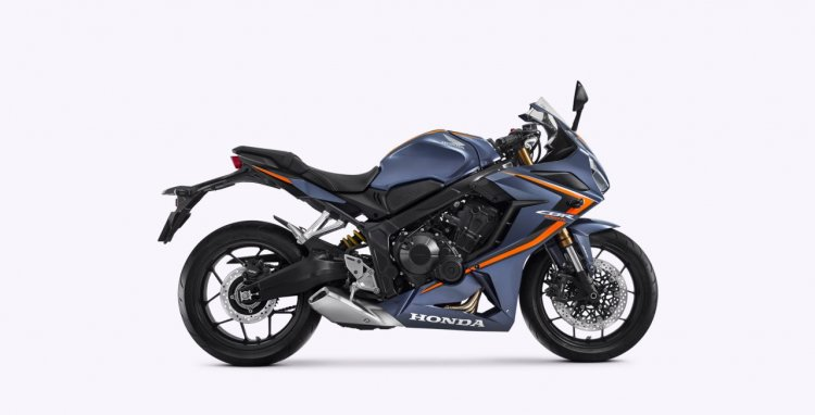 2020 Honda Cbr 650r Gunpowder Black Metallic Right