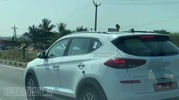 2020 Hyundai Tucson Facelift Spy Picture