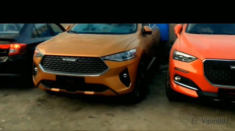 Haval F5 And F7 Suvs Auto Expo 2020 6