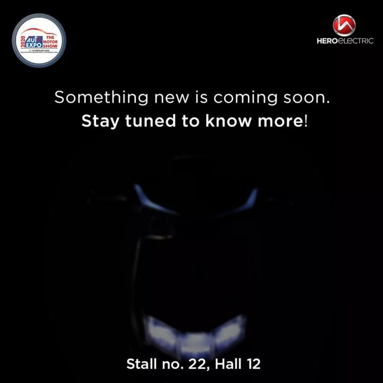 Hero Electric Auto Expo Teaser