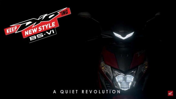 Bs Vi Honda Dio Teaser Front Fascia