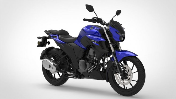Bs Vi Yamaha Fz 25 Racing Blue