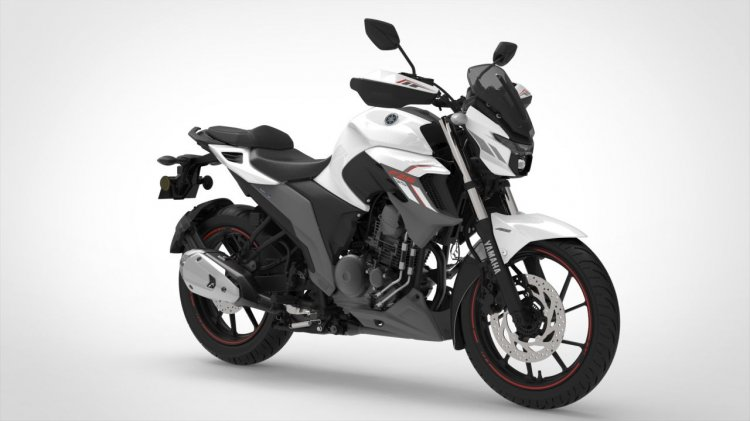 Bs Vi Yamaha Fzs 25 Metallic White
