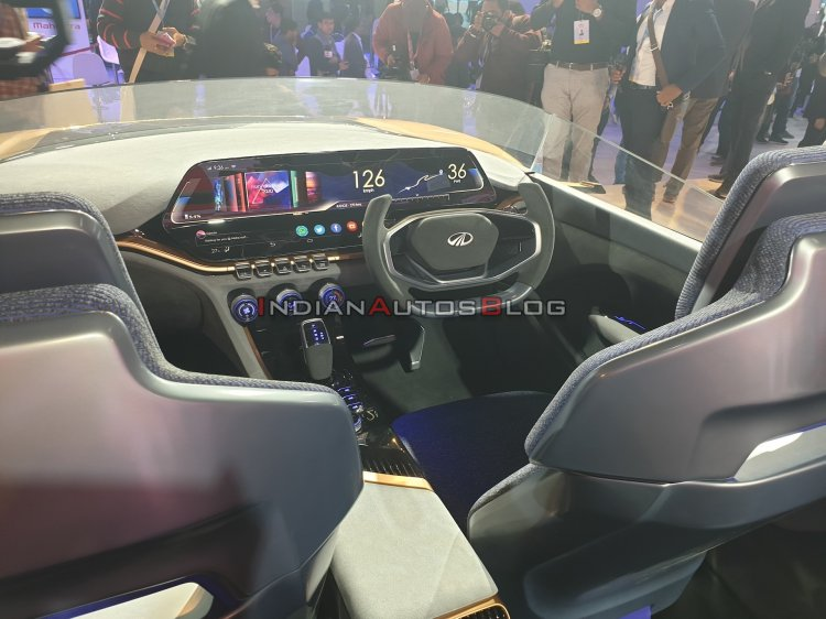 Mahindra Funster Concept Interior