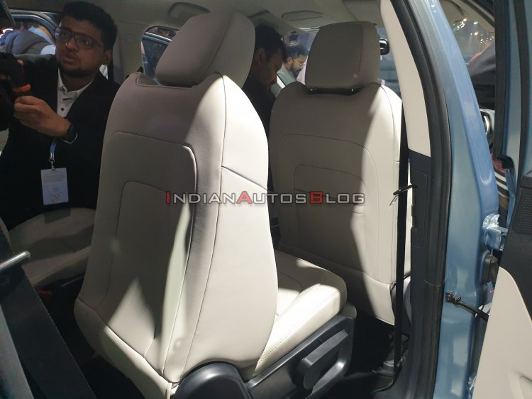 Tata Gravitas Captain Seats Auto Expo 2020