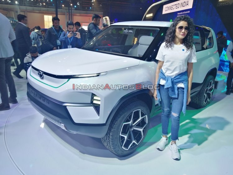 Tata Sierra Concept Front Three Quarters Close Vie