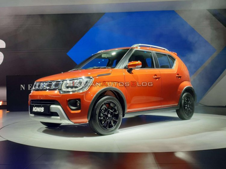 2020 Maruti Ignis Facelift Front Three Quarters Ri