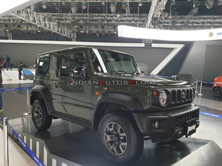 Suzuki Jimny Front Three Quarters Auto Expo 2020