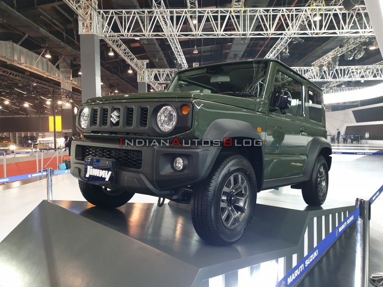 Suzuki Jimny Front Three Quarters Left Side Auto E