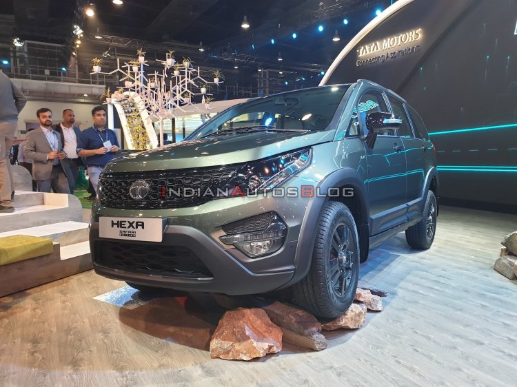 Tata Hexa Safari Concept Front Three Quarters Auto