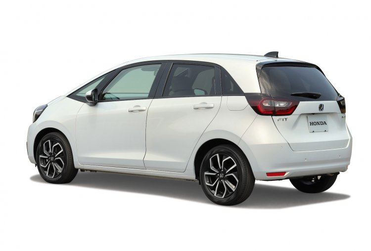 2020 Honda Jazz Home Rear Three Quarters