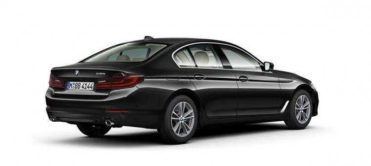 Bmw 5 Series 530i Sport Rear Three Quarters