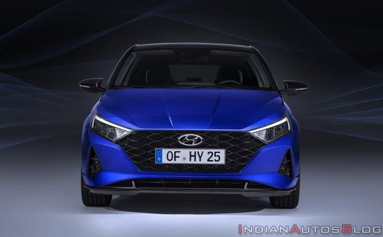 2020 Hyundai I20 Front