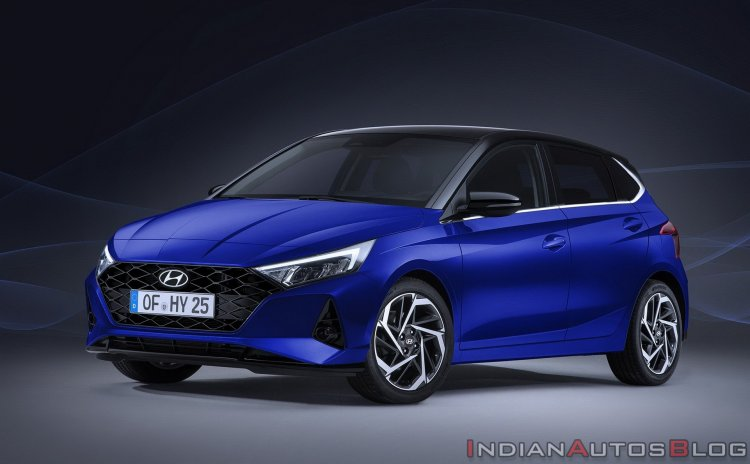 2020 Hyundai I20 Front Three Quarters