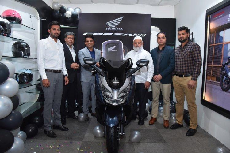 Honda Forza 300 India Delivery