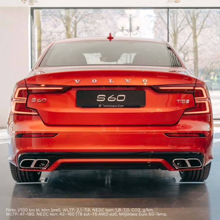 All New Volvo S60 Mk3 Rear