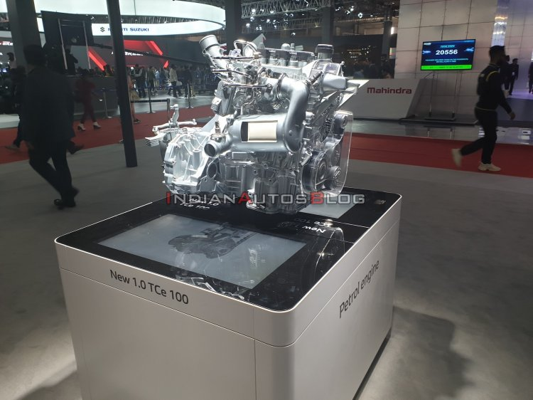 Renault Triber Turbo Petrol Engine Tce 100 Autto E