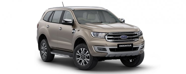 Bs Vi 2020 Ford Endeavour With Led Headlamps