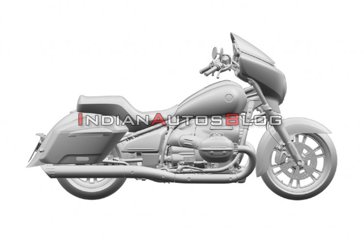 Bmw R18 Bagger Right Side Profile