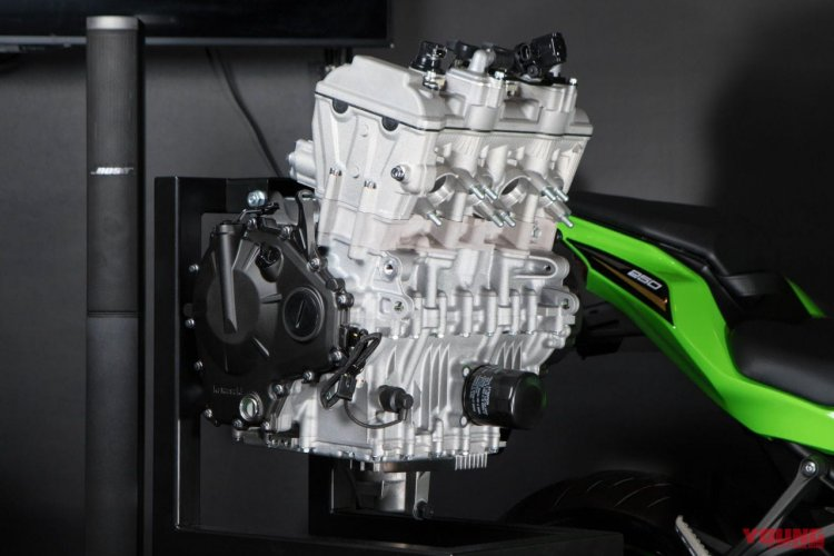 Kawasaki Zx 25r Engine Front Three Quarter Right S