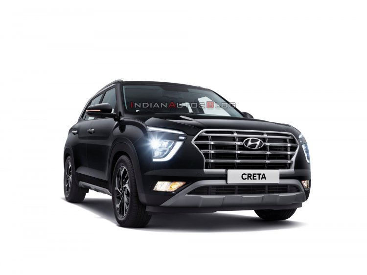 2020 Hyundai Creta Front Three Quarters Official I