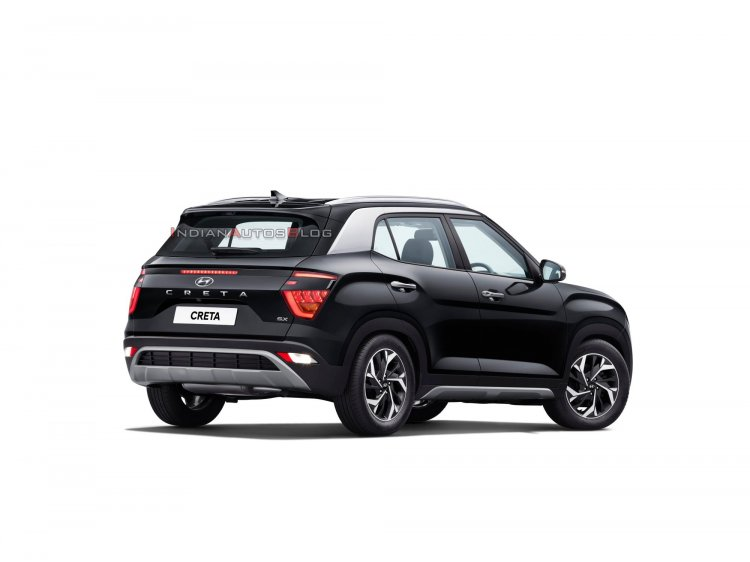 2020 Hyundai Creta Rear Three Quarters Official Im