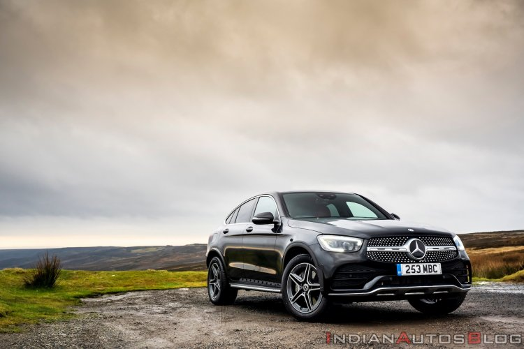 2020 Mercedes Glc Coupe Facelift Front Three Quart