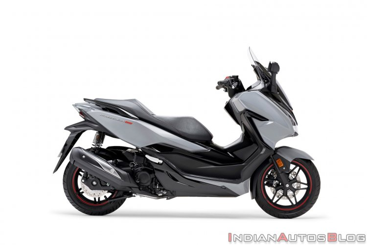 upcoming scooters in india Honda Forza 300 Limited Edition Right Side