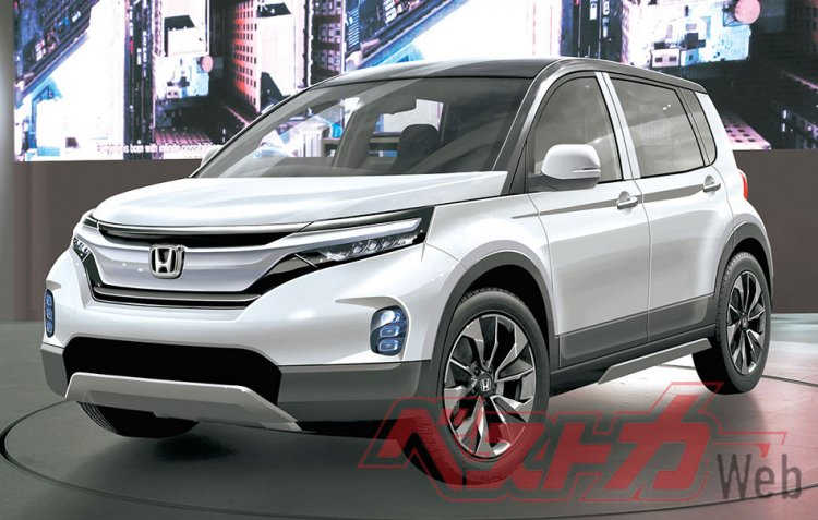 2020 Honda Small Suv Rendering