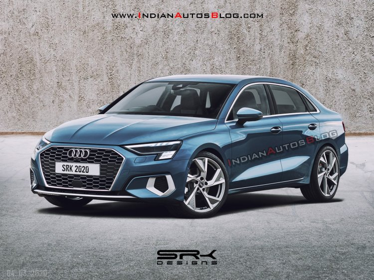 2021 Audi A3 Sedan Front Three Quarters Rendering