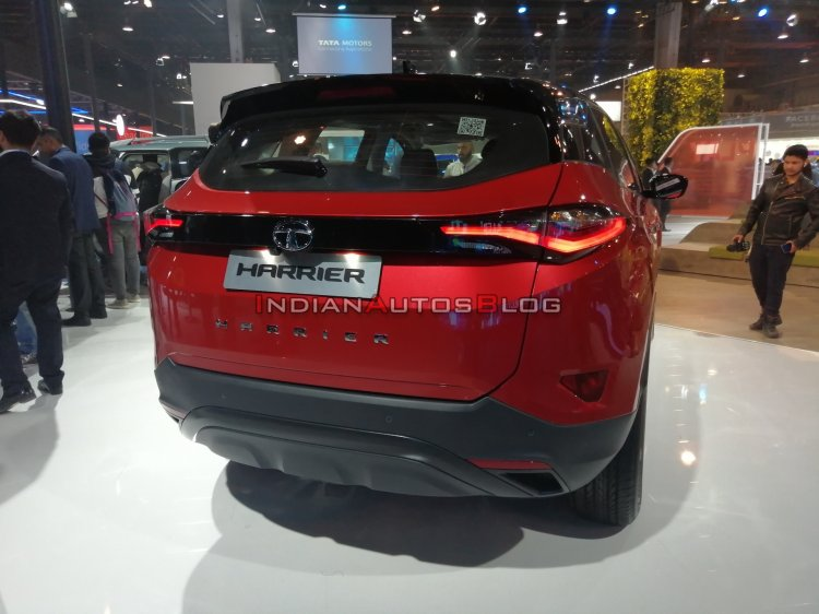 2020 Tata Harrier Automatic Rear Auto Expo 2020 13