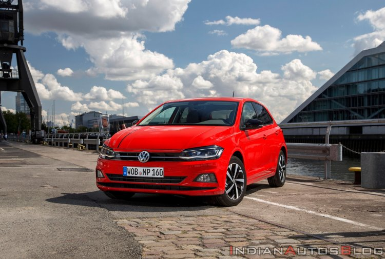 Mk6 Vw Polo Red Front Three Quarters