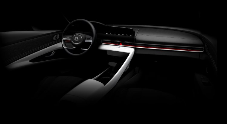 2021 Hyundai Elantra 2021 Hyundai Avante Interior