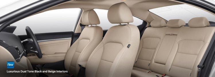 2019 Hyundai Elantra Facelift Interior 1b85