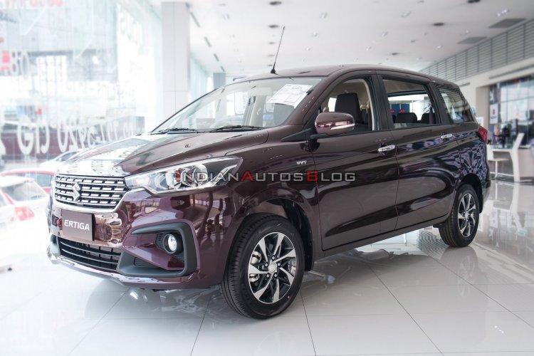 2020 Suzuki Ertiga Front Three Quarters Showroom I