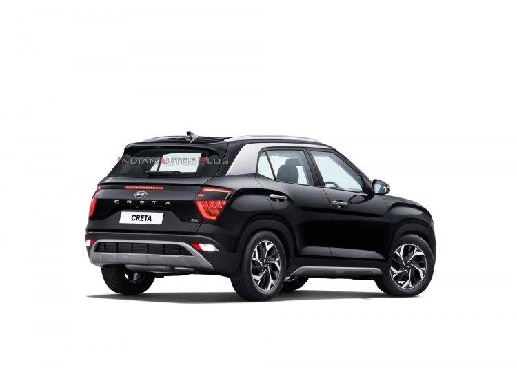 2020 Hyundai Creta Rear Three Quarters Official Im