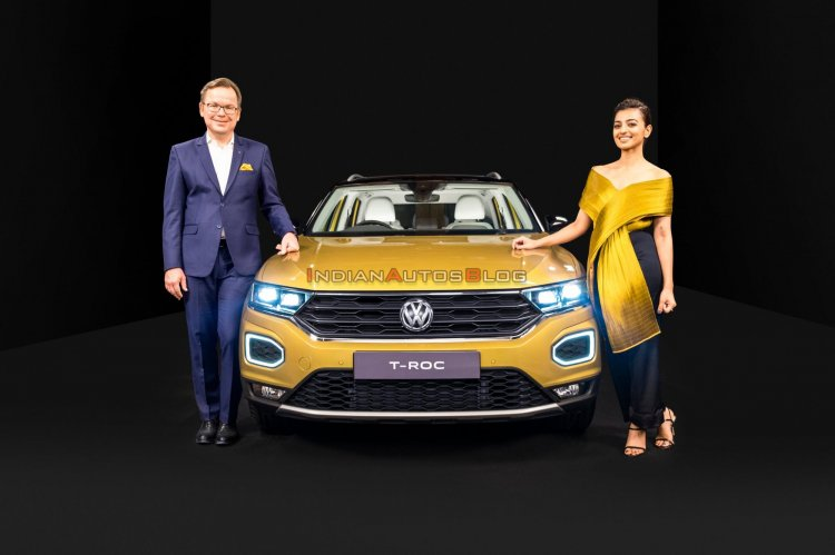 Vw T Roc Front India Launch