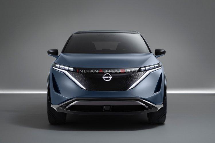 Nissan Ariya Concept Front Studio Image