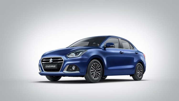 2020 Maruti Dzire Facelift Front Three Quarters Le