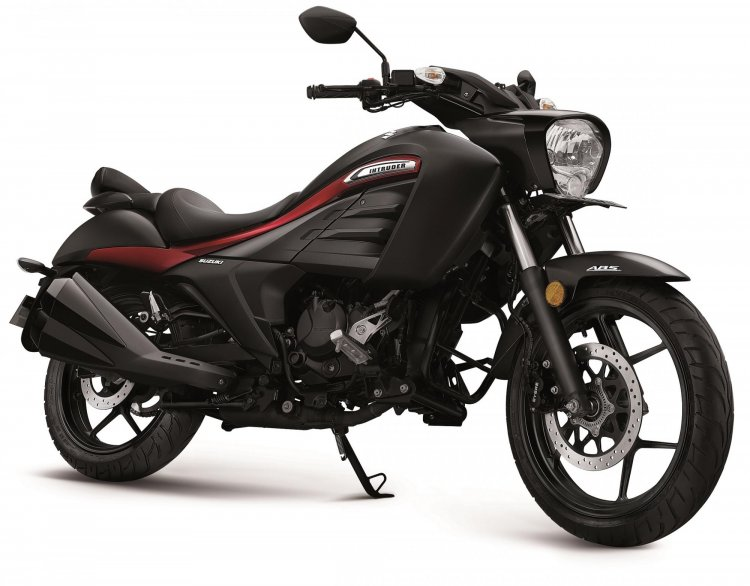 Suzuki Intruder Bs6 Front Three Quarter Black