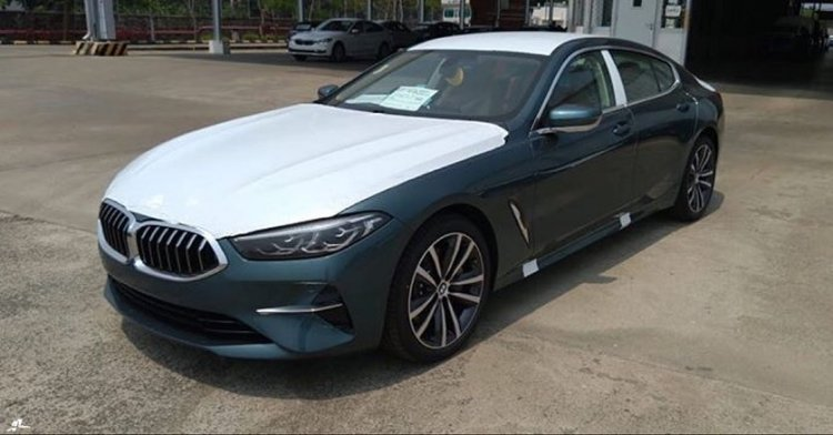 Bmw 8 Series Gran Coupe Front Three Quarters India