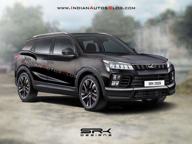 2021 Mahindra Xuv500 Black Rendering