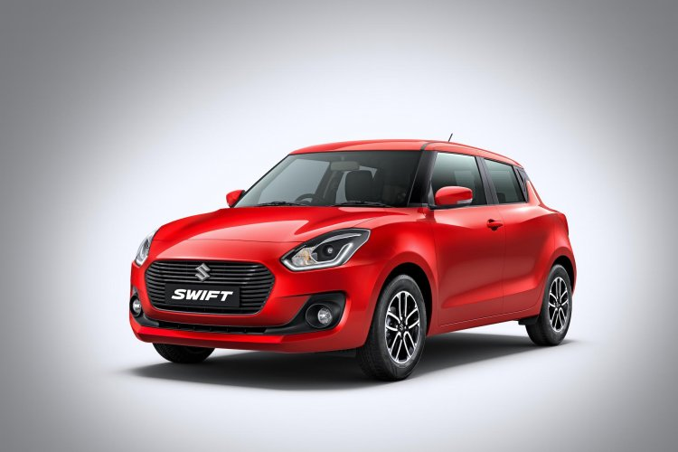 Maruti Swift Front Three Quarters Left Side