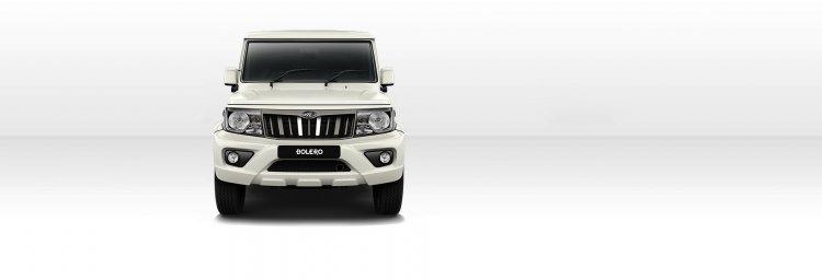 New Mahindra Bolero Power Facelift Front