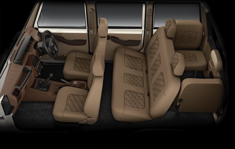 New Mahindra Bolero Power Facelift Interior Cabin