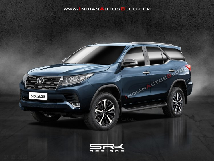 New Toyota Fortuner 2020 Rendering